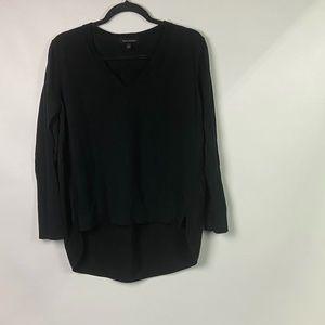 BANANA REPUBLIC Womens Sz Med Black V Neck Sweater